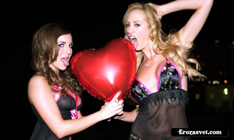 Brett Rossi  Jenna Rose  Patent Leather Heart